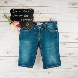 Buckle BKE Payton Shorts Size 27 Bermuda Thick